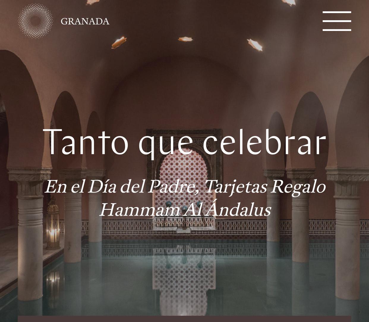 Descuento de hasta un 25% en tarjetas regalo para los baños árabes de Granada