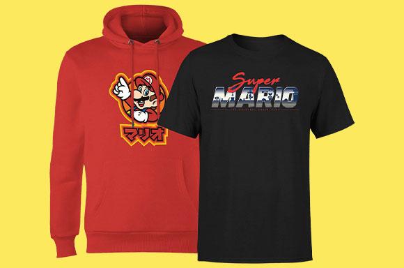 Sudadera + camiseta Nintendo