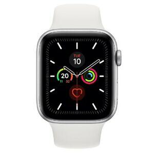 Apple Watch Series 5 44mm GPS Aluminio Correa Sport Blanca