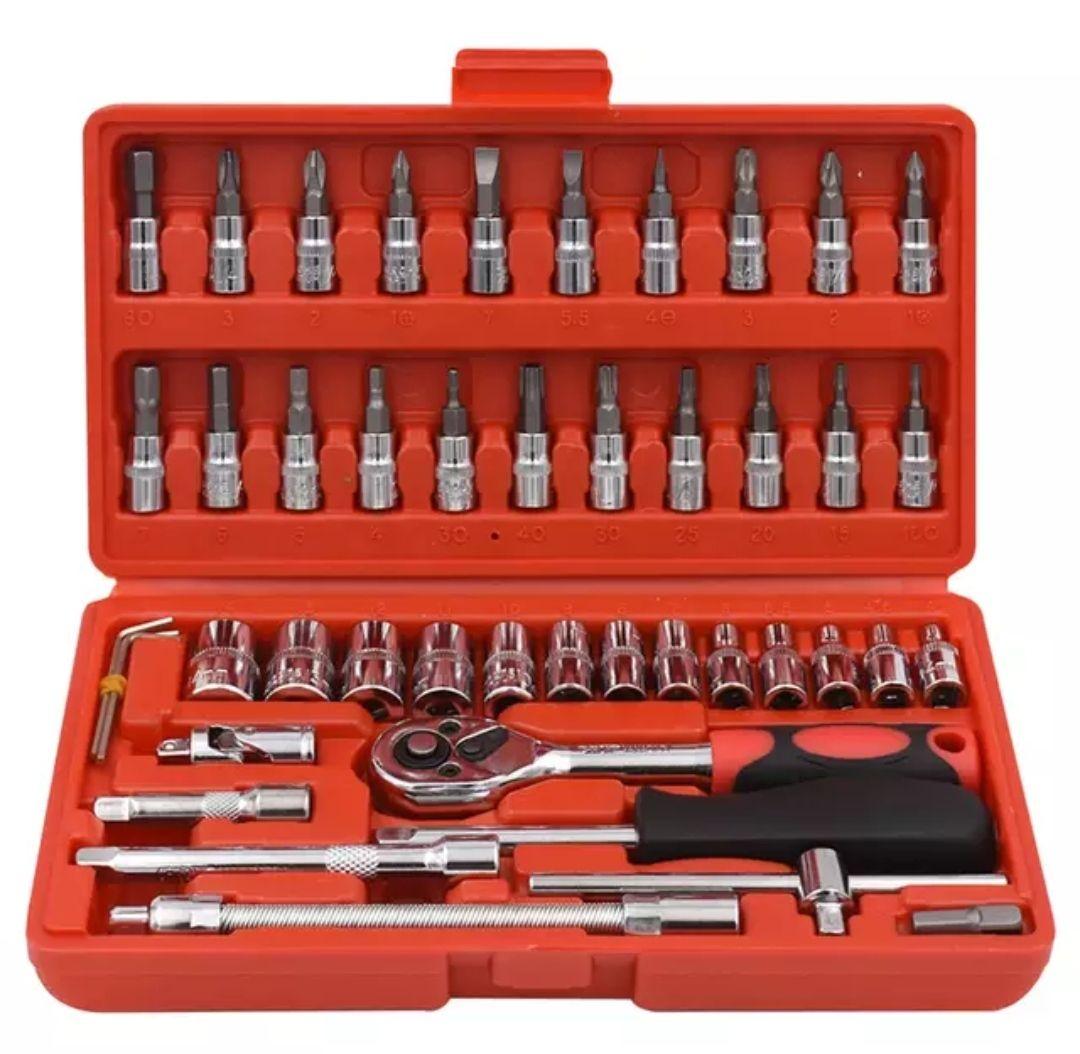 Kit de herramientas OcioDual de Maletin 46 Uds llaves de taller y otras puntas (ALIEXPRESS PLAZA)