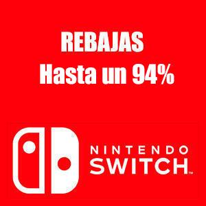 Hasta un 94% en +400 juegos (eShop, Nintendo Switch)