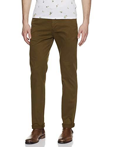 Scotch & Soda Nos Stuart-Slim Fit Cotton/Elastan Garment Dyed Chino Pant Pantalones para Hombre