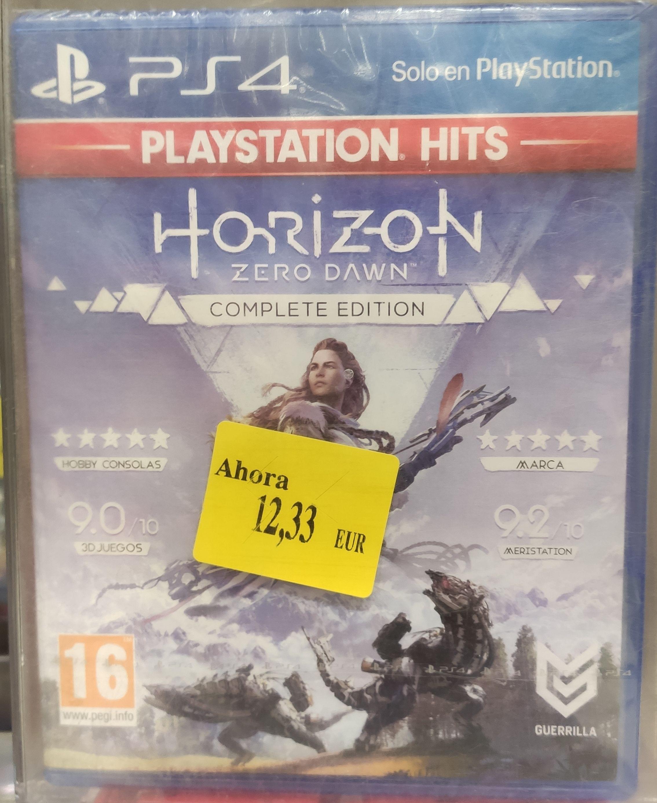 Videojuego Horizon Zero Dawn: Complete Edition para PlayStation 4 . Alcampo Cuenca
