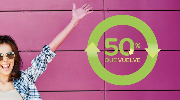 [Carrefour] 50% Que vuelve + Folleto + Cupones Descuento