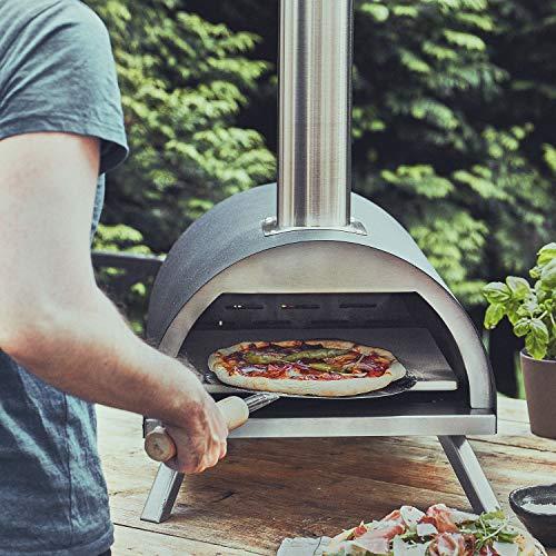 Horno para pizzas de jardín. [Mínimo historico]