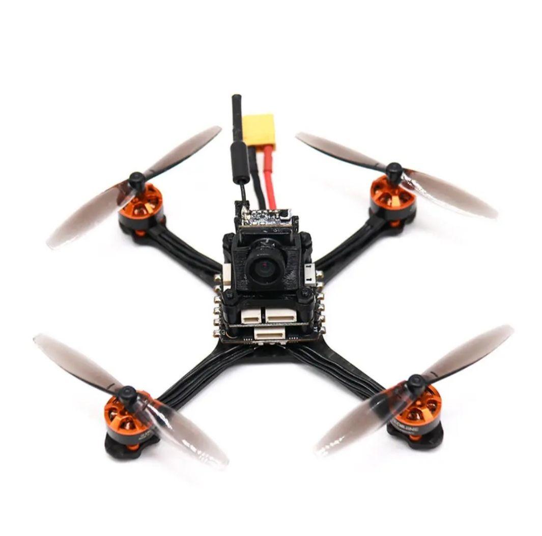 Eachine Tyro69 105mm F4 OSD 2.5 Inch 2-3S DIY FPV Racing Drone PNP con Caddx 1200TVL Cámara