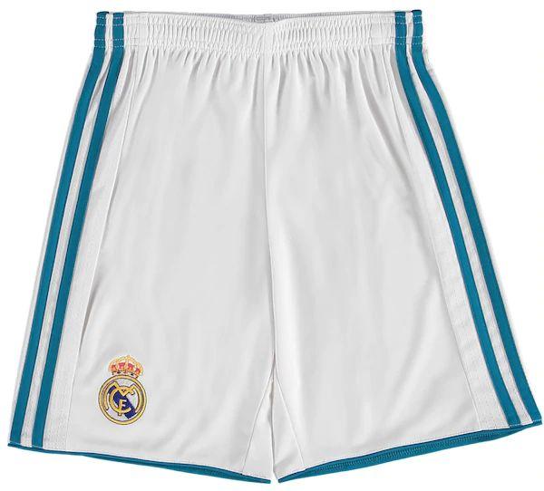 Pantalón corto 1° equipación R Madrid 17/18. Niños