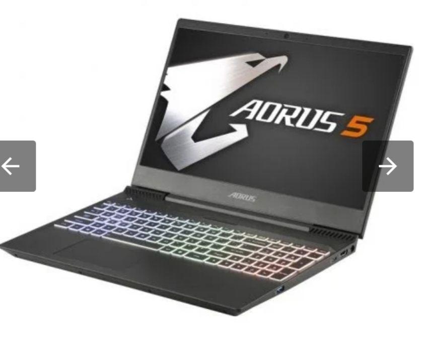 "Gigabyte Aorus 5 Intel Core i7-9750H/16GB/512GB SSD/GTX 1650/15.6"""