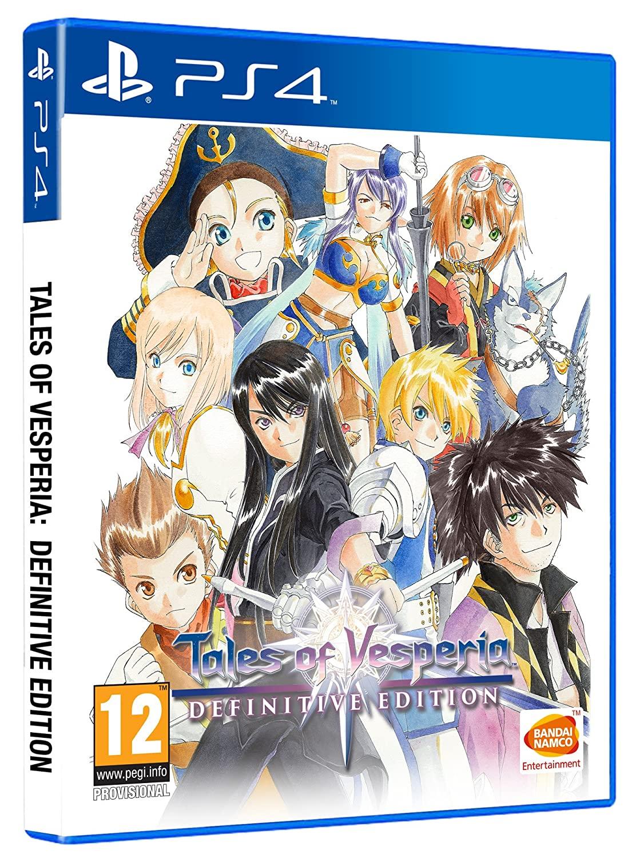 Tales Of Vesperia Definitive Edition PS4 solo 12.9€