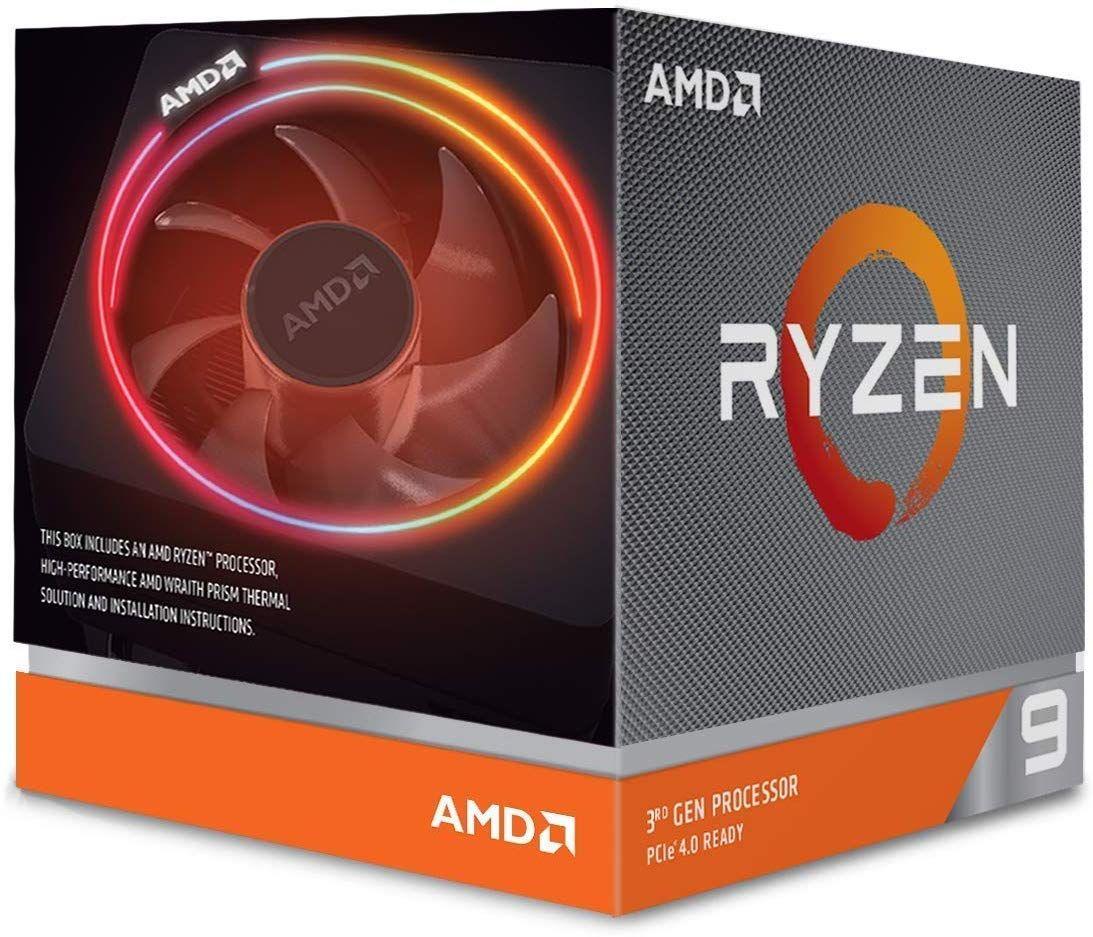 AMD Ryzen 9 3900X 3.8GHz - Refrigeración Wraith Prism
