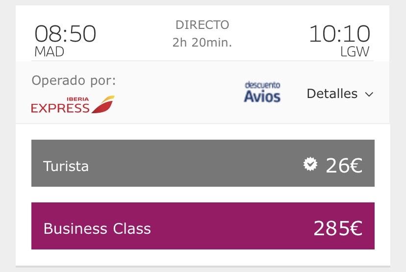 Vuelos Madrid-Londres desde 26€