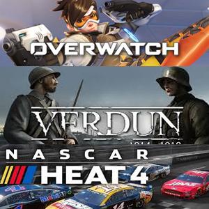 XBOX :: Juega gratis Overwatch®: Origins Edition, NASCAR Heat 4 y Verdun