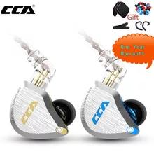 Auriculares hibridos CCA C12 (1DD + 5BA), devolucion gratis + regalo