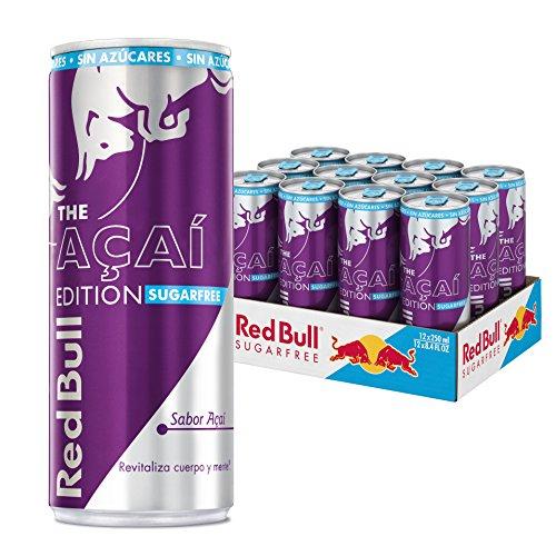 Red Bull Açai Edition Bebida Energética - Paquete de 12 x 250 ml - Total: 3000 ml