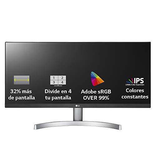 """LG 29WK600-W - Monitor Profesional UltraWide WFHD de 73 cm (29"""")"""