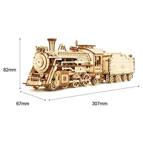 Locomotora 3d madera rompecabezas