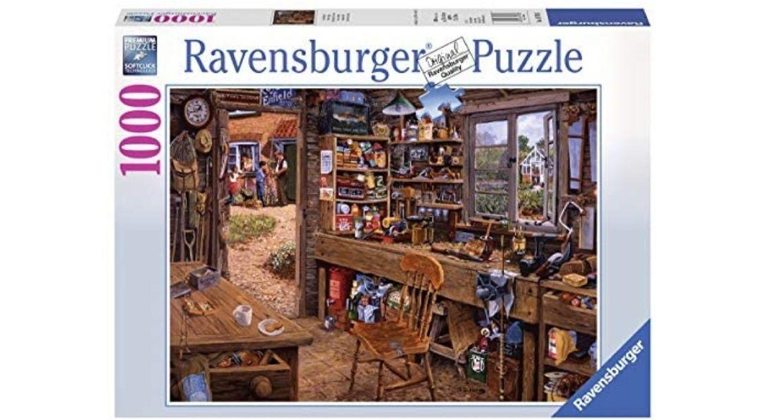 Opas Schuppen. Puzzle 1000 piezas
