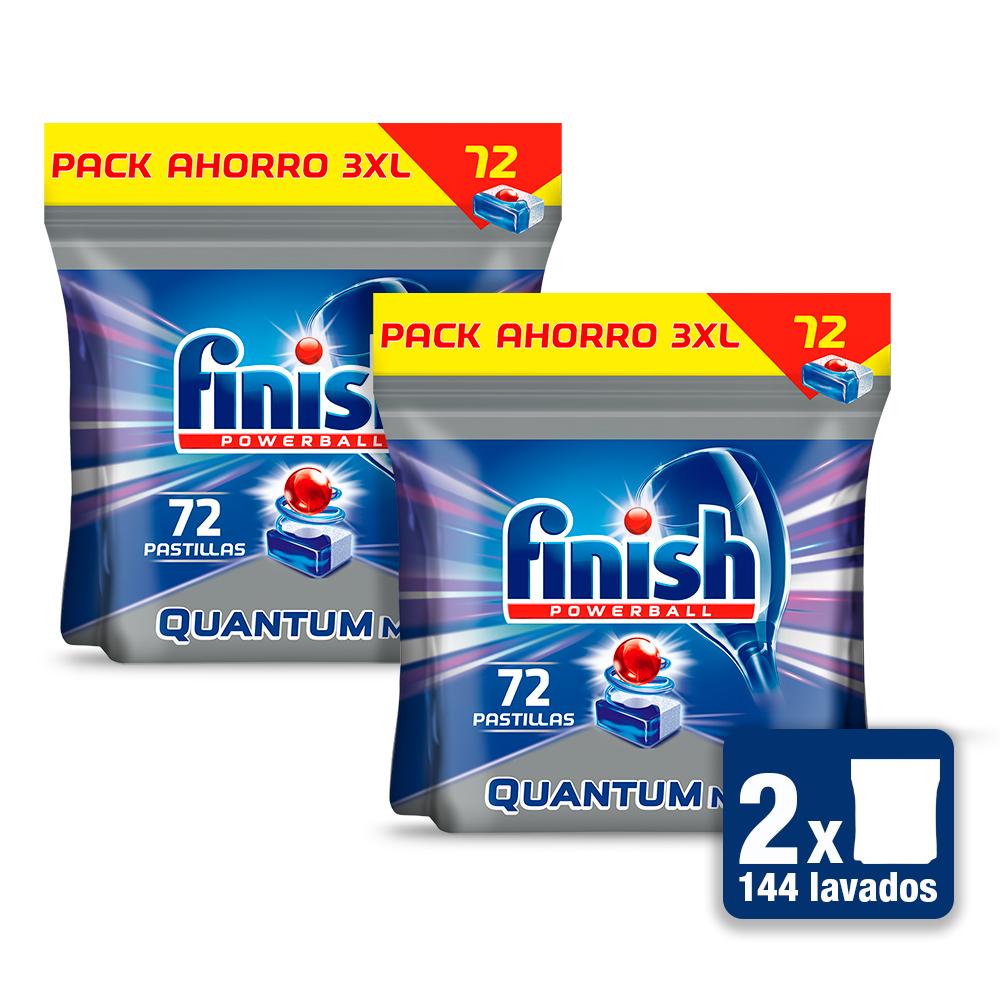 144 pastilas de Finish Quantum [Desde España]
