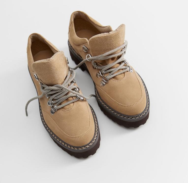 Zapatos de piel para mujer Mango