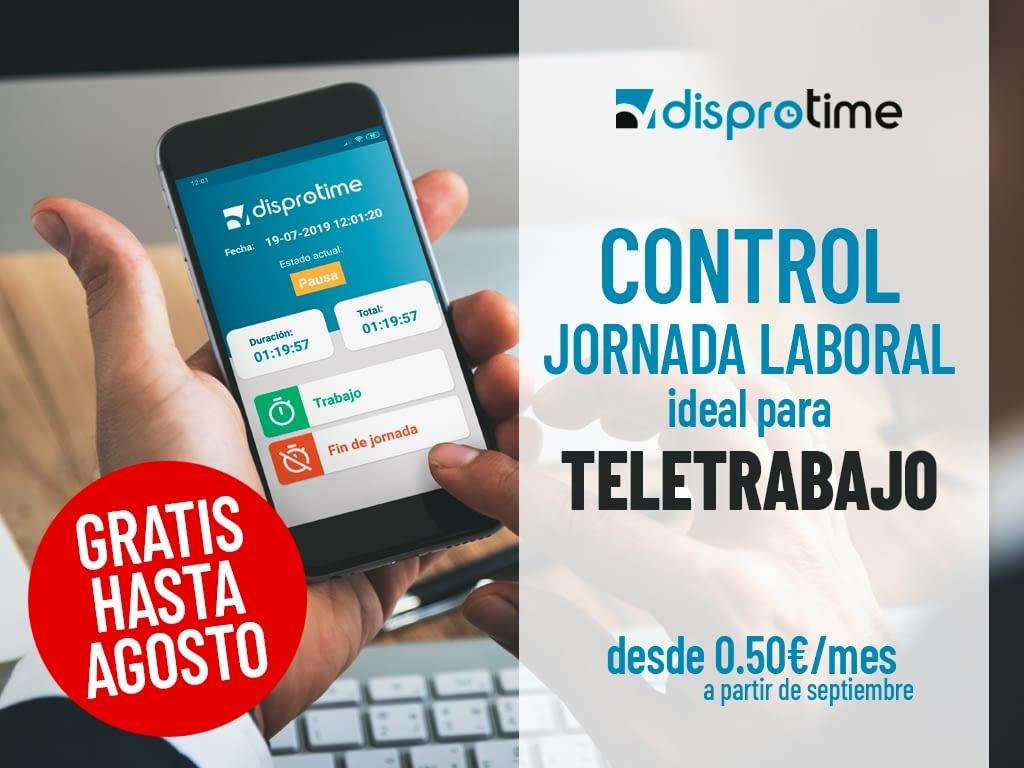 Control de Jornada Laboral GRATIS hasta Agosto (ideal para TELETRABAJO)