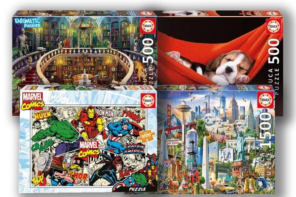 Puzzle Educa, segunda unidad a 1€ (Puzzlemania Barcelona)
