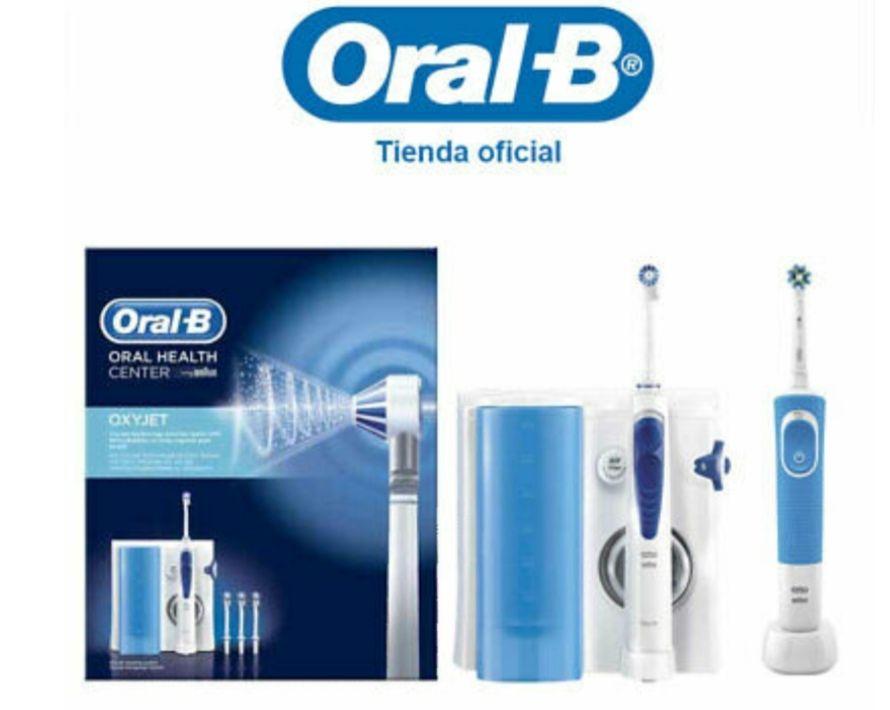 Oral-B Oxyjet MD20 Irrigador bucal + Cepillo de dientes eléctrico Vitality 100