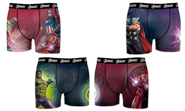Pack de 4 boxers Avengers