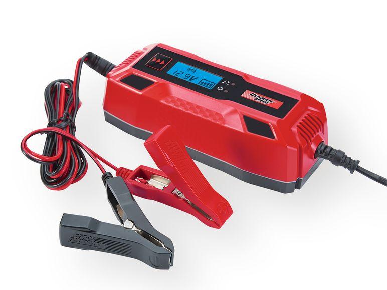 Cargador de baterías para coche y moto con 6 V o 12 V. Ultimate Speed