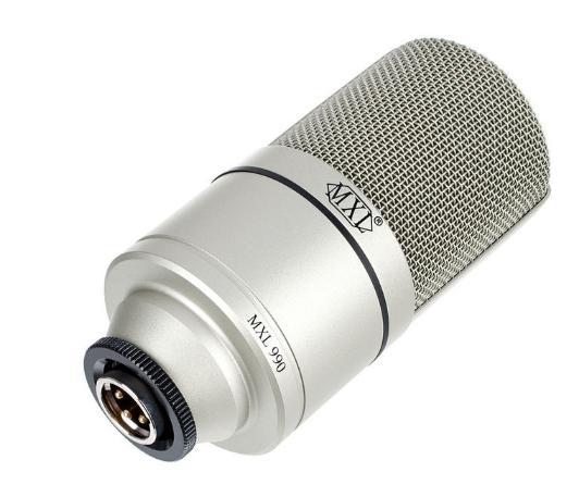 MXL 990 USB. Micrófono de condensador de estudio de gran diafragma