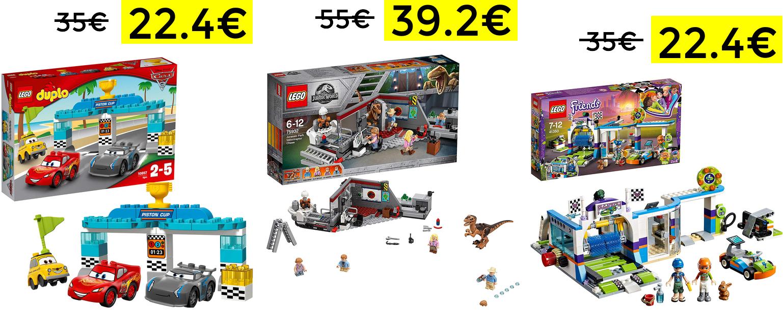 Preciazos en sets Lego