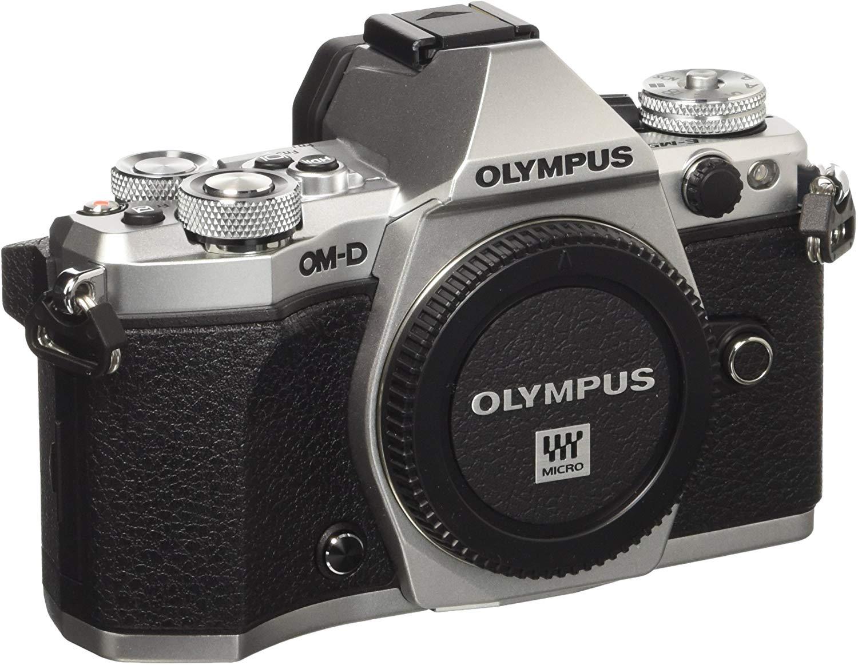 "Olympus OM-D E-M5 Mark II - Cámara EVIL de 16.1 MP, Pantalla táctil 3"", Estabilizador óptico, Grabación de Vídeo Full HD, Plata"