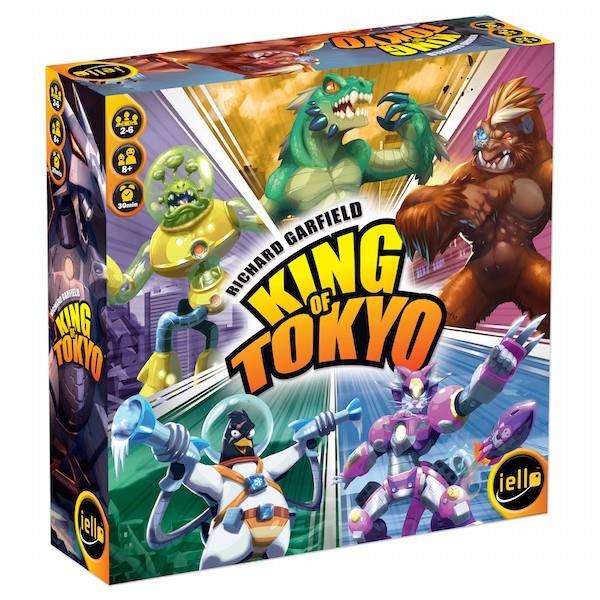 Juego de mesa: Devir - King of Tokyo edición en Castellano 2016