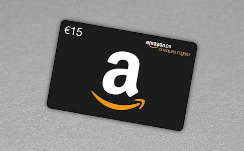 Cheque regalo Amazon GRATIS