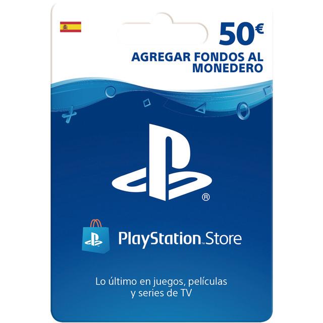 Tarjeta prepago 50 Euros PSN Store [y otras de menor saldo]