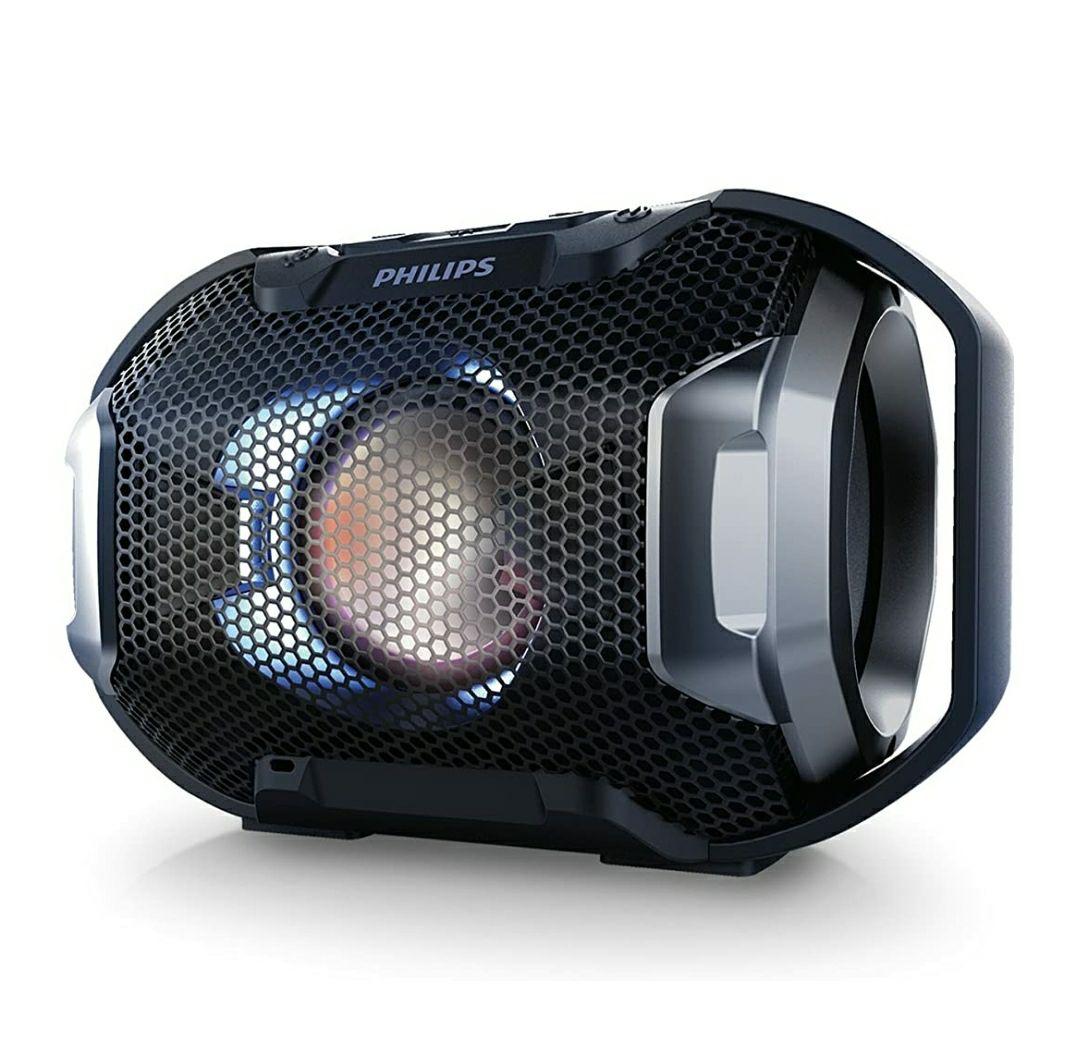 Mini Altavoz Philips Bluetooth con protección IPX7