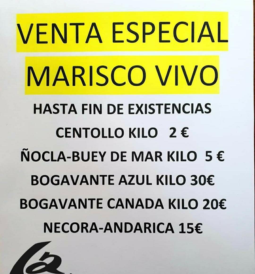 Ofertas en marisco en La Chalana (Asturias y Madrid)