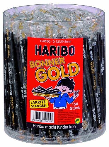 150 barritas de Haribo Bonner Oro por 10 euritos