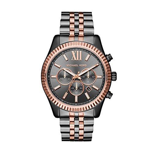 Michael Kors Reloj Cronógrafo Unisex para Adultos