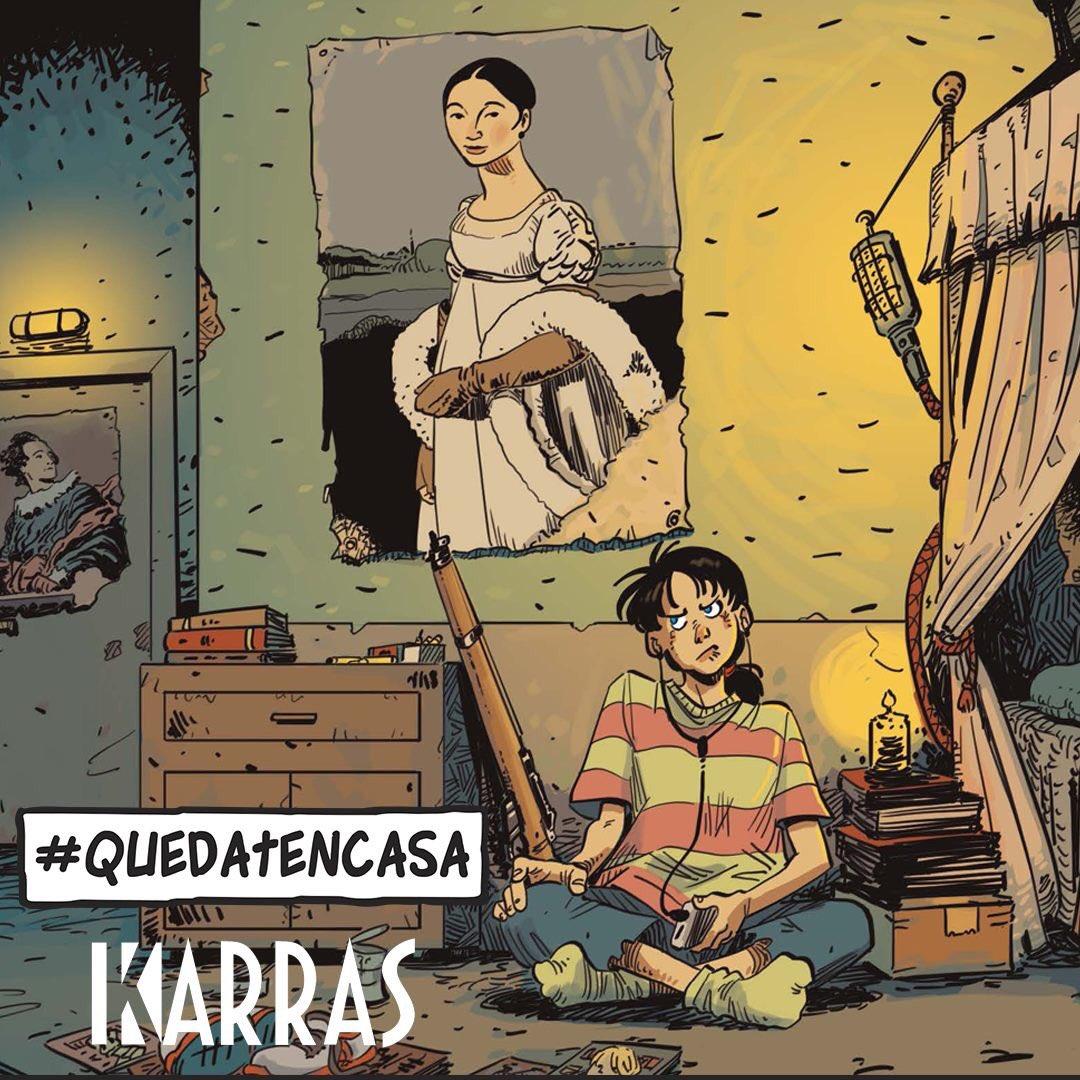 El Torres regala algunos comics por el coronavirus