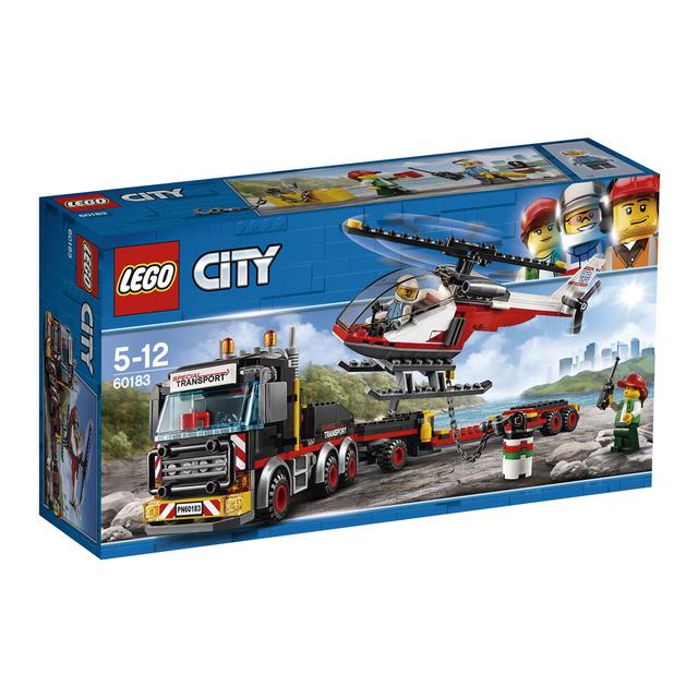 Camión de transporte de mercancías pesadas Lego City y + LEGO