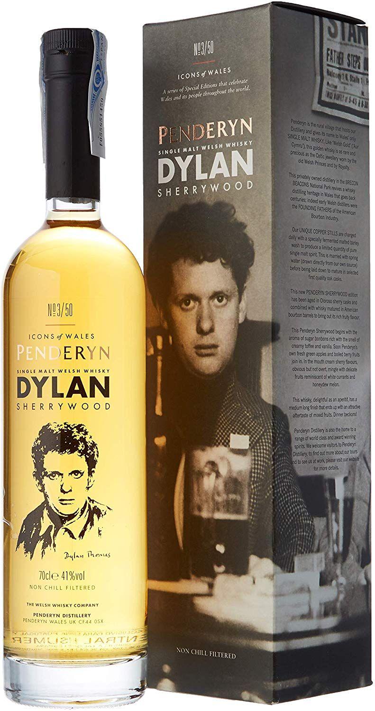 Whisky Penderyn Dylan Thomas Sherrywood - 700 ml.