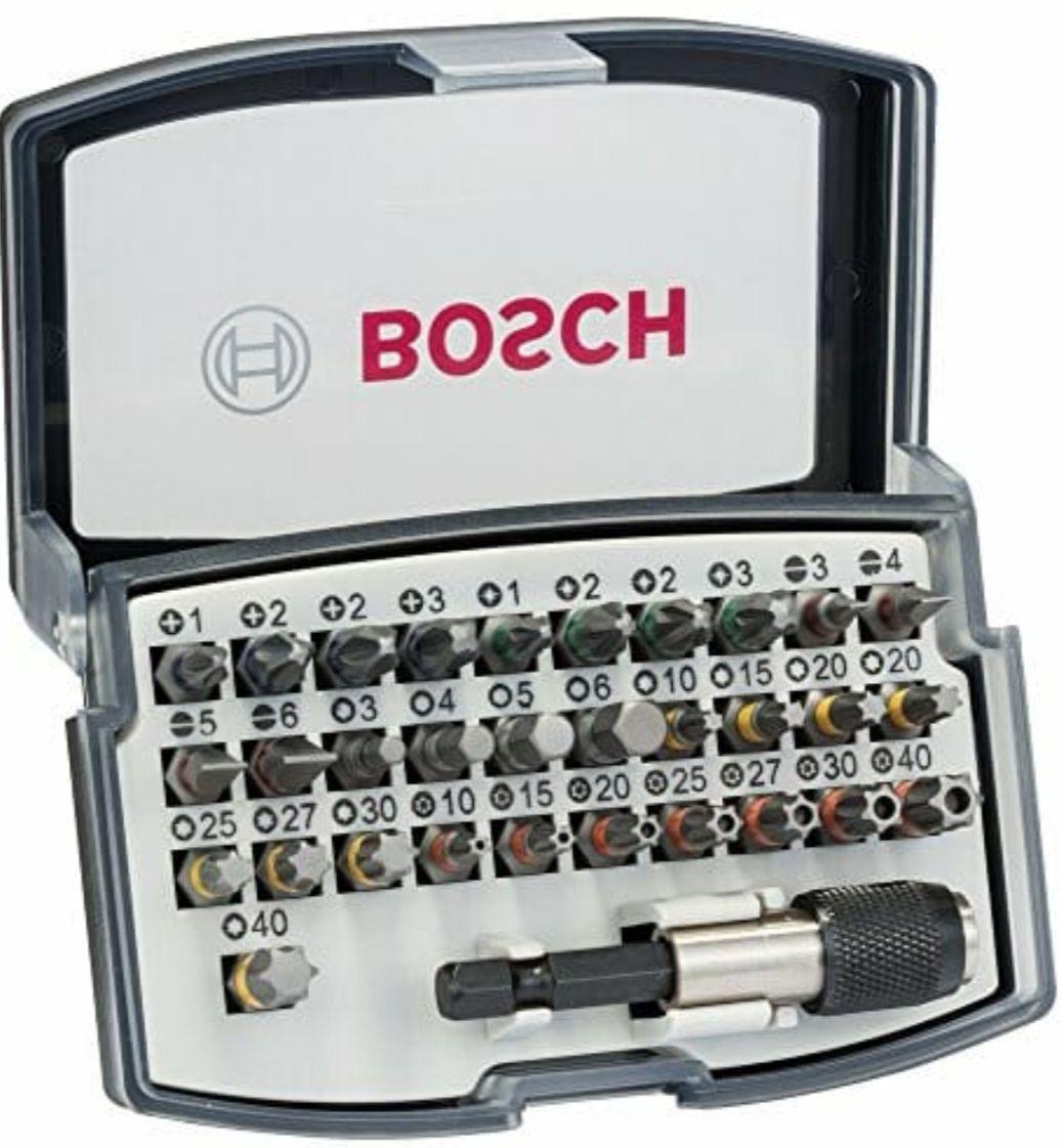 Bosch Professional 2608551079 Set de 32 Unidades para atornillar