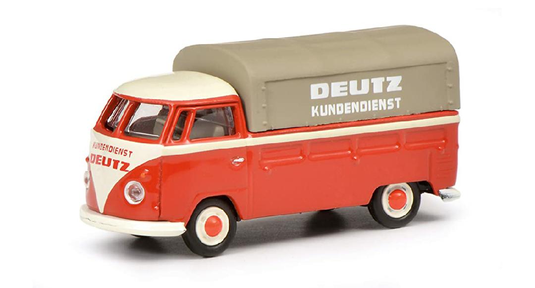 Furgoneta de colección Schuco VW T1b