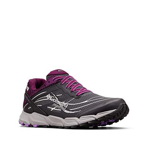 Columbia Caldorado III Outdry, Zapatillas de Running para Asfalto para Mujer, Gris (Graphite, Crown 053), 39 EU