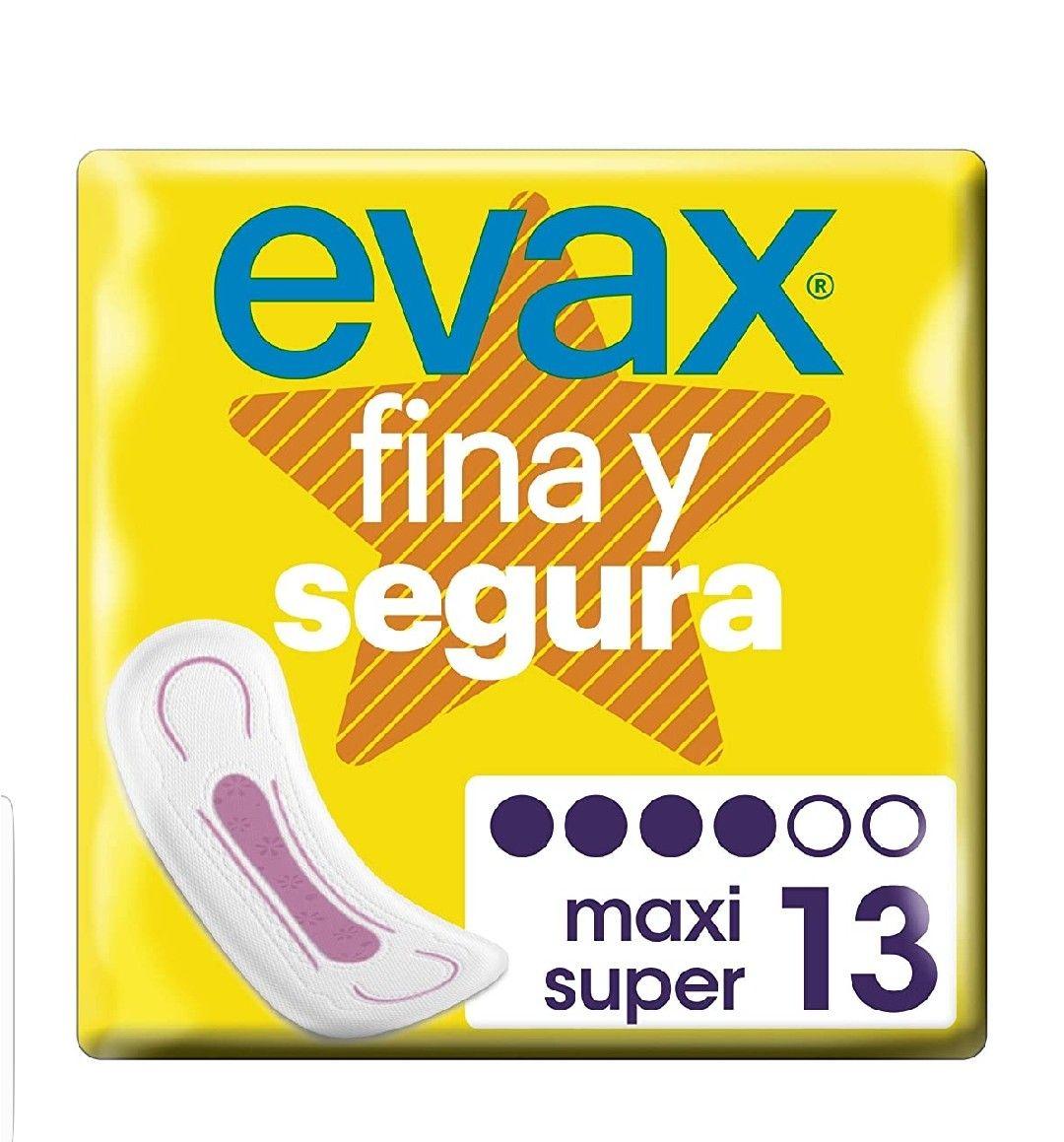 Evax Fina y Segura. Super/Maxi.