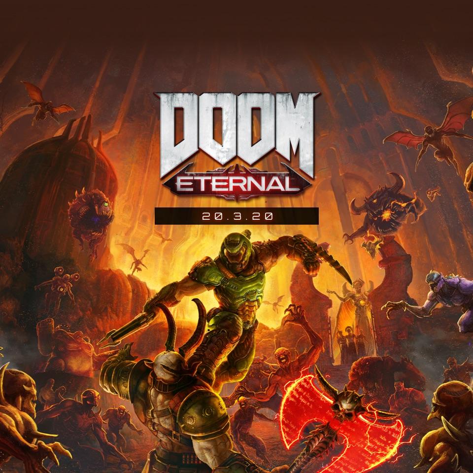 Doom Eternal key PC