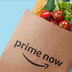 Prime Now: Entrega 2 horas gratis en compras de 10€