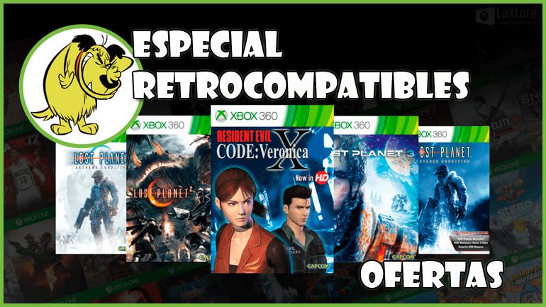 """Ofertas Xbox """"Especial Retrocompatibles """" Hasta el 19 de Marzo"""
