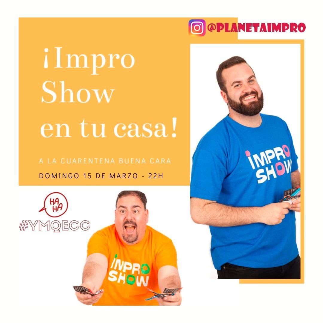 Improshow en casa / Domingo 15 a las 22h
