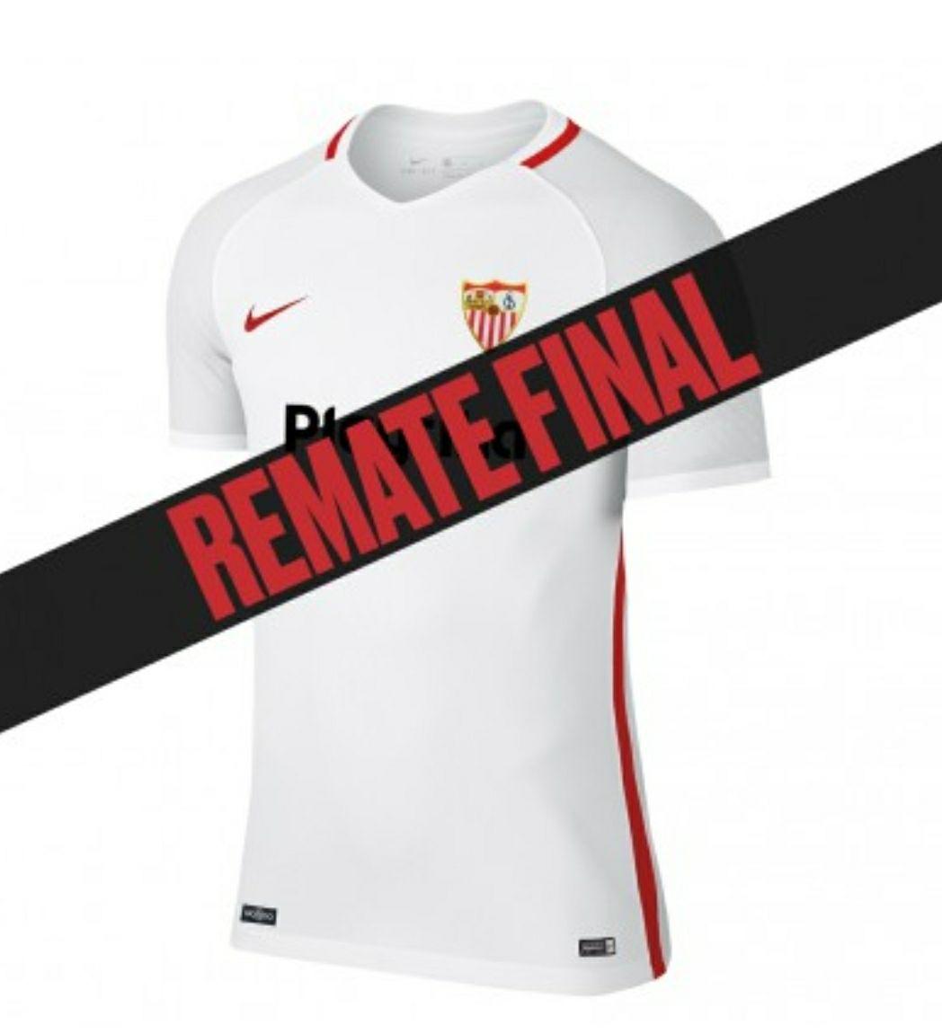 Camisetas oficiales del Sevilla Fútbol Club de la temporada 2018/2019.